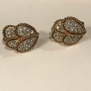 Jewelry - Stunning Panetta clip earrings